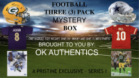 OKAUTHENTICS 3 Pack Football Mystery Box Series 1 at PristineAuction.com