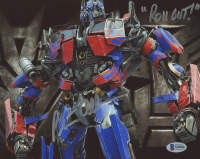 """Peter Cullen Signed """"Transformers"""" 8x10 Photo Inscribed """"Roll Out!"""" (Beckett COA) at PristineAuction.com"""