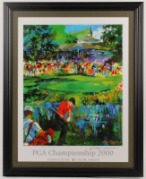 Leroy Neiman Signed 2000 PGA Championship 27x34 Custom Framed Lithograph Display (JSA COA) at PristineAuction.com