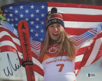 Mikaela Shiffrin Signed 8x10 Photo (Beckett COA) at PristineAuction.com