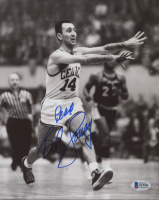 "Bob Cousy Signed Celtics 8x10 Photo Inscribed ""Peace"" (Beckett COA) at PristineAuction.com"