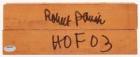 "Robert Parish Signed 3x8 Wood Floorboard Piece Inscribed ""HOF 03"" (Schwartz COA) at PristineAuction.com"