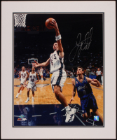Jason Kidd Signed Nets 20x24 Custom Framed Matted Photo Display (Steiner COA) at PristineAuction.com