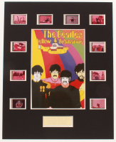 """The Beatles: Yellow Submarine"" LE 8x10 Custom Matted Original Film / Movie Cell Display at PristineAuction.com"