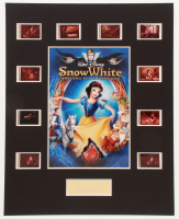 """Snow White & The Seven Dwarfs"" LE 8x10 Custom Matted Original Film / Movie Cell Display at PristineAuction.com"