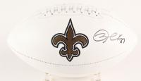 Jared Cook Signed Saints Logo Football (Beckett COA) at PristineAuction.com