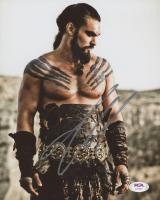 "Jason Momoa Signed ""Game of Thrones"" 8x10 Photo (PSA COA) at PristineAuction.com"