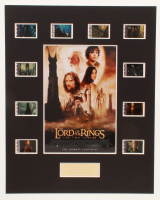 """The Lord of the Rings: The Two Towers"" LE 8x10 Custom Matted Original Film Cell Display at PristineAuction.com"