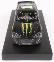 Kurt Busch Signed 2019 NASCAR #1 Monster Energy - Kentucky Win - Raced Version - 1:24 Premium Action Diecast Car (PA COA) at PristineAuction.com