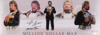 "Ted DiBiase Signed ""Million Dollar Man"" LE 10x28 Photo Inscribed ""HOF 2010"" (Playball Ink Hologram) at PristineAuction.com"