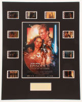 """Star Wars: Episode II – Attack of the Clones"" LE 8x10 Custom Matted Original Film / Movie Cell Display at PristineAuction.com"
