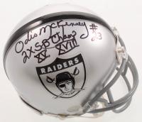 "Odis McKinney Signed Raiders Mini Helmet Inscribed ""2X SB Champ XV XVIII"" (PSA COA) at PristineAuction.com"