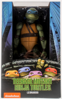 Neca Teenage Mutant Ninja Turtles Leonardo Unopened 1:4 Scale Action Figure at PristineAuction.com