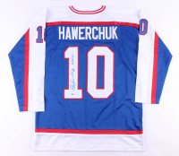 """Dale Hawerchuk Signed Jersey Inscribed """"HOF 01"""" (Beckett COA) at PristineAuction.com"""
