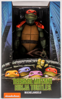 Neca Teenage Mutant Ninja Turtles Michelangelo Unopened 1:4 Scale Action Figure at PristineAuction.com