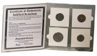 World War II: The Axis Powers (4) Coin Collection Album at PristineAuction.com