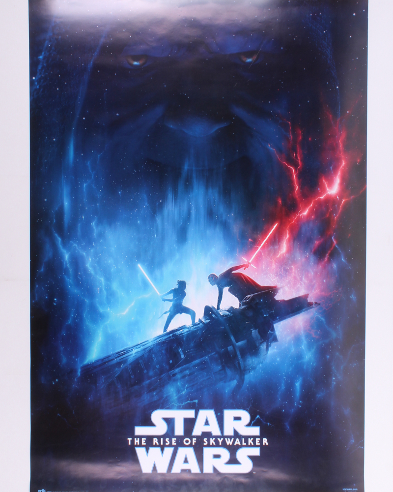 Star Wars The Rise Of Skwalker 27x40 Movie Poster Pristine Auction