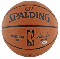 Magic Johnson Signed NBA Game Ball Series Basketball (Beckett COA) at PristineAuction.com