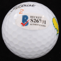 Henrik Stenson Signed Masters Logo Golf Ball (Beckett COA) at PristineAuction.com