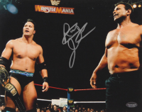 Rocky Johnson Signed 8x10 Photo (Schwartz COA) at PristineAuction.com