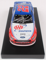 Joey Logano Signed 2019 NASCAR #22 AAA Insurance - 1:24 Premium Action Diecast Car (PA COA) at PristineAuction.com