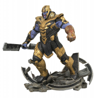 "Marvel Milestones 16"" Tall ""Avengers: Endgame"" Armored Thanos Limited Edition Resin Statue at PristineAuction.com"