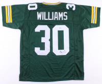 Jamaal Williams Signed Jersey (Beckett COA) at PristineAuction.com