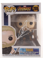 "Chris Hemsworth Signed ""Avengers: Infinity War"" #286 Thor Funko Pop! Vinyl Figure (Beckett COA) at PristineAuction.com"