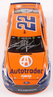 Joey Logano Signed 2018 NASCAR #22 AutoTrader - 1:24 Premium Action Diecast Car (PA COA) at PristineAuction.com
