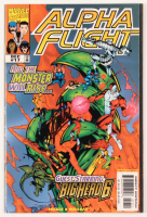 "Stan Lee Signed 1998 ""Alpha Flight"" Issue #17 Marvel Comic Book (JSA COA) at PristineAuction.com"