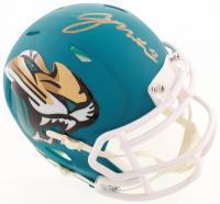 Gardner Minshew Signed Jaguars AMP Alternate Speed Mini Helmet (Beckett COA) at PristineAuction.com