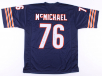 "Steve McMichael Signed Jersey Inscribed ""S.B. XX"" (Beckett COA) at PristineAuction.com"