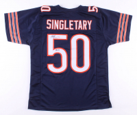 "Mike Singletary Signed Jersey Inscribed ""HOF 98"" (JSA COA) at PristineAuction.com"