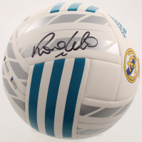 Ronaldo Signed Real Madrid CF Logo Soccer Ball (Beckett COA) at PristineAuction.com
