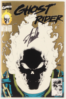 "Stan Lee Signed 1991 ""Ghost Rider"" Issue #15 Marvel Comic Book (JSA COA) at PristineAuction.com"