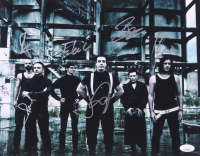 "Rammstein 11x14 Photo Signed By (6) With Richard Z. Kruspe, Paul H. Landers, Till Lindemann, Christian ""Flake"" Lorenz (JSA COA) at PristineAuction.com"
