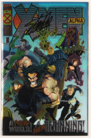"Stan Lee Signed 1995 ""X-Men: Alpha"" Issue #1 Wraparound Foil Cover Marvel Comic Book (JSA COA) at PristineAuction.com"