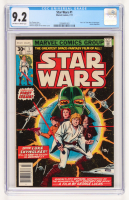 "1977 ""Star Wars: A New Hope"" Issue #1 Comic Book (CGC Encapsulated - 9.2) at PristineAuction.com"