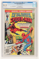 "1973 ""Spectacular Spider-Man"" Issue #1 Comic Book (CGC Encapsulated - 8.5) at PristineAuction.com"