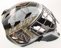 Golden Knights Full-Size Goalie Mask Team-Signed by (19) with Max Pacioretty, Reilly Smith, Marc-Andre Fleury, Alex Tuch (JSA ALOA) at PristineAuction.com