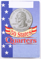 Complete Set of (50) 25¢ Twenty Five Cent States Quarters with Original Booklet at PristineAuction.com