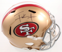 Frank Gore Signed 49ers Full-Size Speed Helmet (Beckett COA) at PristineAuction.com