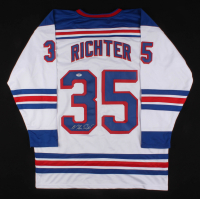 Mike Richter Signed Jersey (PSA COA) at PristineAuction.com