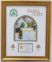 "Pope Francis ""Papal Visit to Philadelphia"" 19x24 Custom Framed Photo Display at PristineAuction.com"