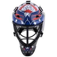 Braden Holtby Signed Capitals Mini Goalie Mask (Fanatics Hologram) at PristineAuction.com