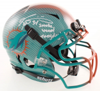 "Ricky Williams Signed Dolphins Full-Size Authentic On-Field Hydro-Dipped Vengeance Helmet Inscribed ""Smoke Weed Everyday!"" (JSA COA) at PristineAuction.com"