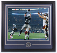 Sean Lee Signed Cowboys 22x30 Custom Framed Photo Display (JSA COA) at PristineAuction.com
