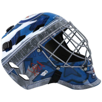Connor Hellebuyck Signed Jets Full-Size Goalie Mask (Fanatics Hologram) at PristineAuction.com