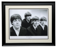 "The Beatles ""The Fab Four"" LE 24x29 Custom Framed Hulton Archive Giclee at PristineAuction.com"