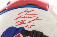 "John ""Smokey"" Brown Signed Bills Full-Size Authentic On-Field Hydro-Dipped F7 Helmet (JSA COA) at PristineAuction.com"